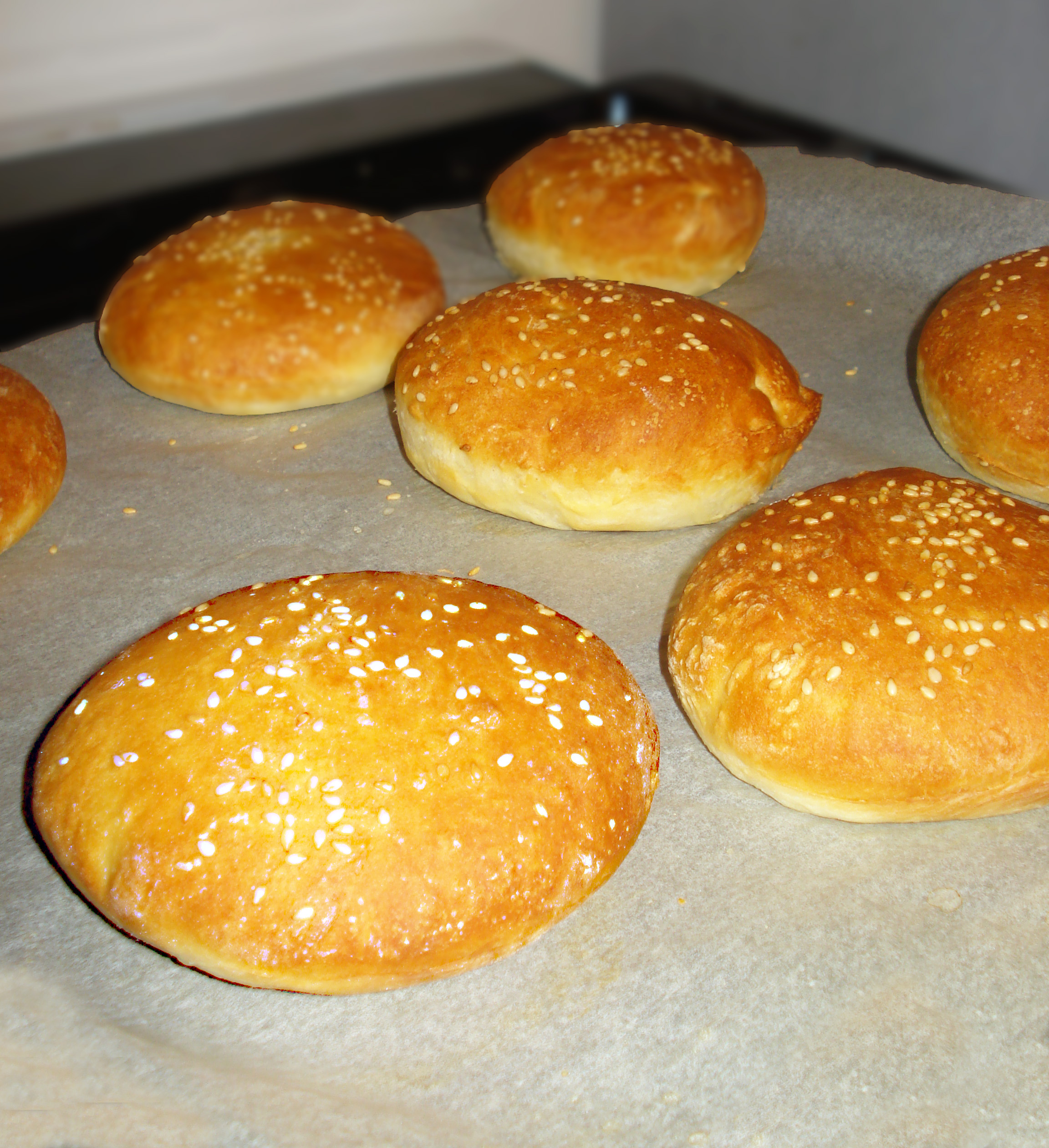 Pains à hamburger ou buns